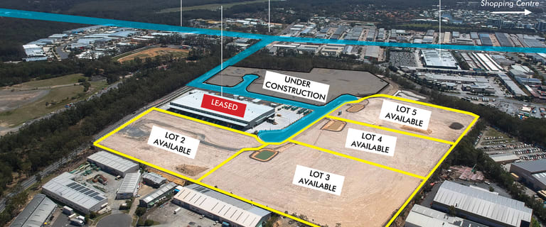 Factory, Warehouse & Industrial commercial property for lease at 1 Cnr Captain Cook Drive and Logistics Place Arundel QLD 4214