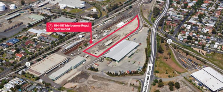 Development / Land commercial property for lease at Lots 154-157 Melbourne Road Spotswood VIC 3015