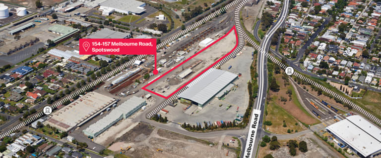 Industrial / Warehouse commercial property for lease at Lots 154-157 Melbourne Road Spotswood VIC 3015