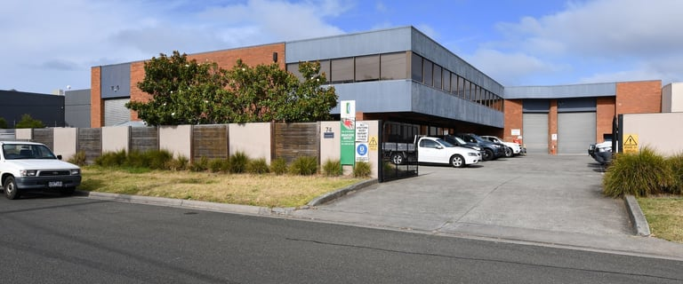 Industrial / Warehouse commercial property for lease at 74-76 Industrial Drive Braeside VIC 3195
