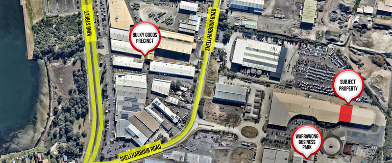 Industrial / Warehouse commercial property for lease at 5A/243 Shellharbour Road Port Kembla NSW 2505