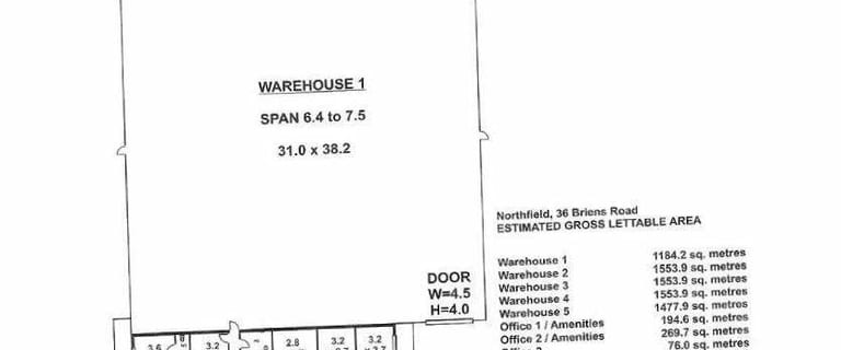 Industrial / Warehouse commercial property for lease at 709-711 Grand Junction Road Northfield SA 5085