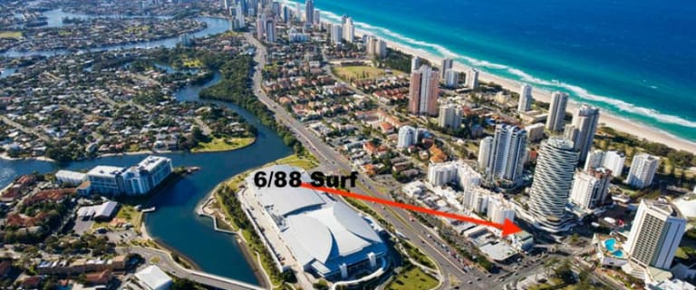 Shop & Retail commercial property for lease at 6/88 Surf Parade Broadbeach QLD 4218
