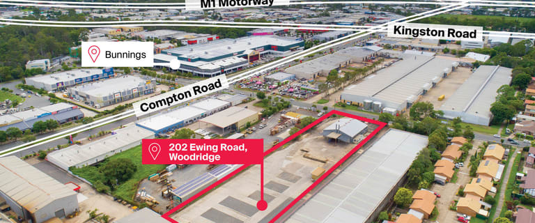 Factory, Warehouse & Industrial commercial property for lease at 202 Ewing Road Woodridge QLD 4114