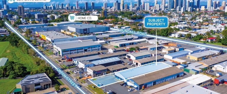 Factory, Warehouse & Industrial commercial property for lease at 33 Upton Street Bundall QLD 4217