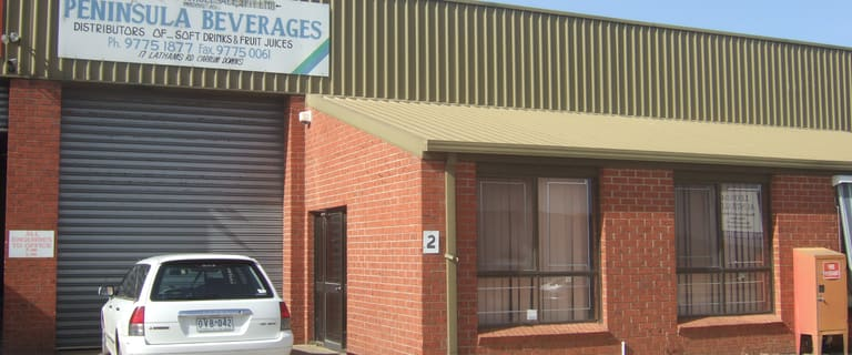 Industrial / Warehouse commercial property for lease at 2/17-19 Lathams Road Carrum Downs VIC 3201