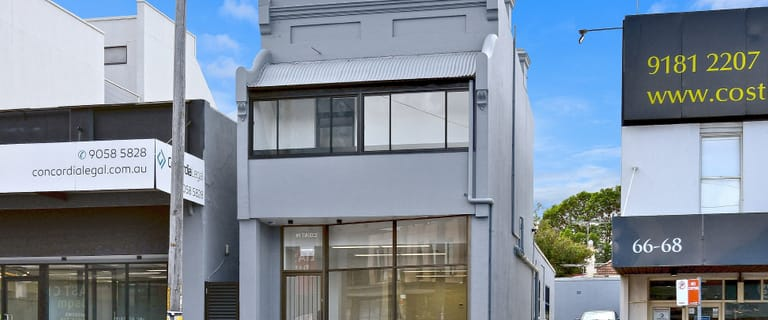 Offices commercial property for lease at 70 Victoria Road Drummoyne NSW 2047