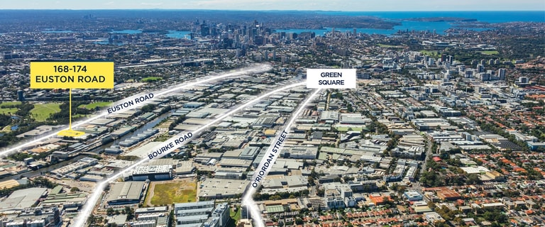 Factory, Warehouse & Industrial commercial property for lease at 168-174 Euston Road Alexandria NSW 2015