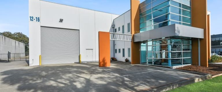 Factory, Warehouse & Industrial commercial property for lease at 12-16 Micro Circuit Dandenong South VIC 3175