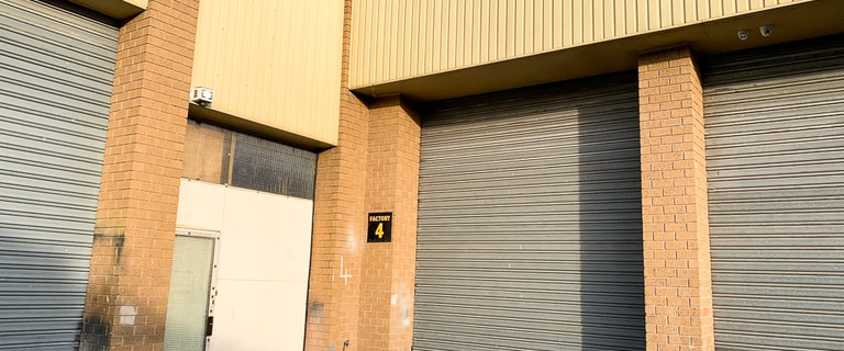 Factory, Warehouse & Industrial commercial property leased at 4/599-601 Chandler Road Keysborough VIC 3173