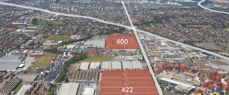 Factory, Warehouse & Industrial commercial property for lease at 400 and 422 Somerville Road West Footscray VIC 3012