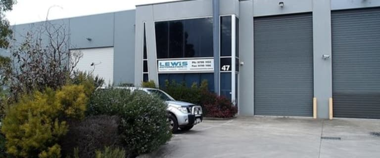 Factory, Warehouse & Industrial commercial property for lease at 47 Micro Circuit Dandenong VIC 3175