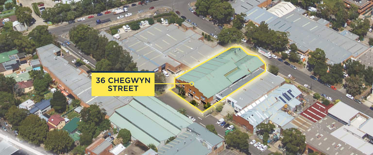 Showrooms / Bulky Goods commercial property for lease at 36 Chegwyn Street Botany NSW 2019