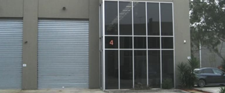 Factory, Warehouse & Industrial commercial property for lease at 4/282-284 Chesterville Road Moorabbin VIC 3189