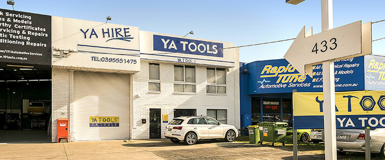 Factory, Warehouse & Industrial commercial property for lease at 1/431 Warrigal Road Moorabbin VIC 3189