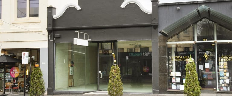 Shop & Retail commercial property for lease at 90 Toorak Road South Yarra VIC 3141