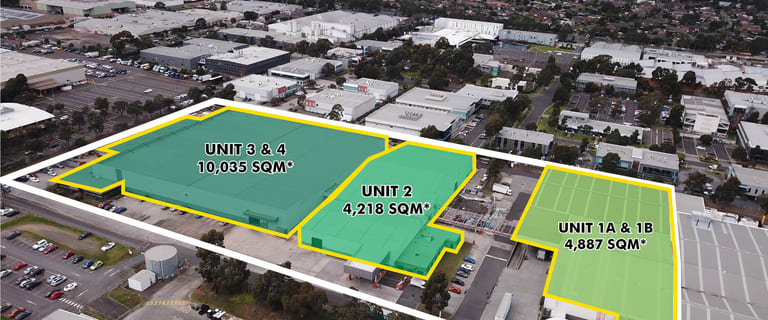 Offices commercial property for lease at 1A, 1B, 2, 3 & 4/227 Wellington Road Mulgrave VIC 3170