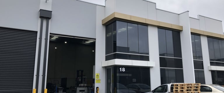 Factory, Warehouse & Industrial commercial property for lease at 18/10 Henderson Road Knoxfield VIC 3180