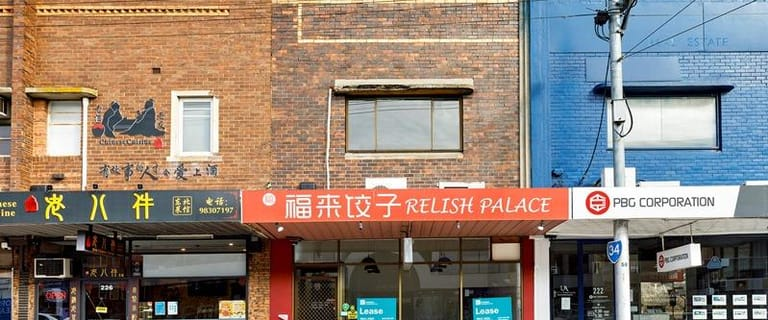 Shop & Retail commercial property for lease at 224 Whitehorse Road Balwyn VIC 3103