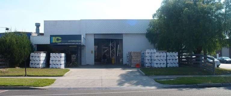 Factory, Warehouse & Industrial commercial property for lease at 43 Popes Road Keysborough VIC 3173