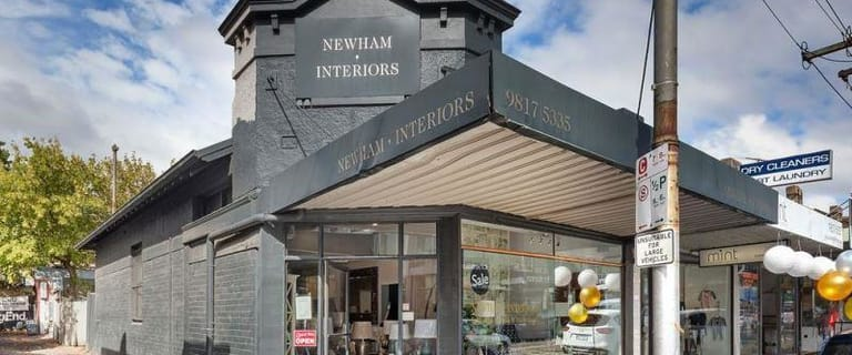 Shop & Retail commercial property for lease at 132 Cotham Road Kew VIC 3101