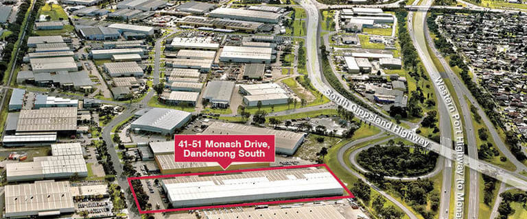 Showrooms / Bulky Goods commercial property for lease at 41-51 Monash Drive Dandenong South VIC 3175