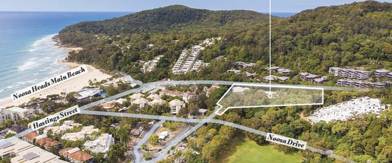 Development / Land commercial property for lease at 2 Halse Lane Noosa Heads QLD 4567
