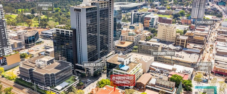 Offices commercial property for lease at 43 Hunter Street Parramatta NSW 2150