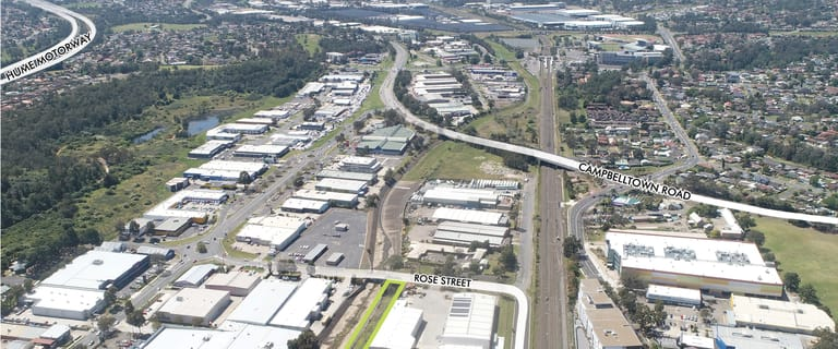Factory, Warehouse & Industrial commercial property for lease at 10 Rose Street Campbelltown NSW 2560