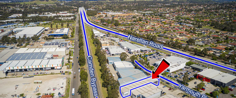 Showrooms / Bulky Goods commercial property for lease at 1/5-7 Yarmouth Place Smeaton Grange NSW 2567