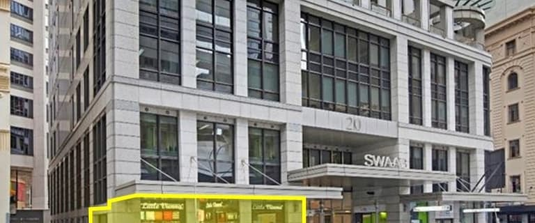 Shop & Retail commercial property for lease at Shop 1/20 Hunter Street Sydney NSW 2000