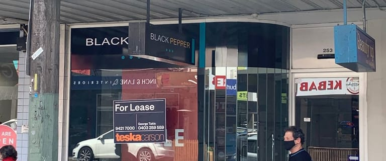 Shop & Retail commercial property for lease at 253 High Street Ashburton VIC 3147