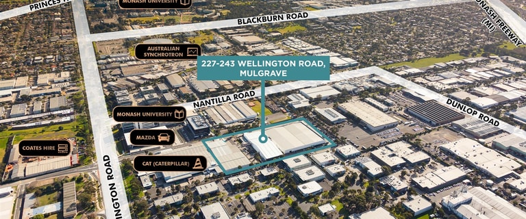 Factory, Warehouse & Industrial commercial property for lease at 227-243 Wellington Road Mulgrave VIC 3170