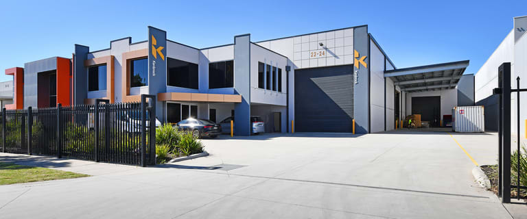 Factory, Warehouse & Industrial commercial property for lease at 22-24 Edison Road Dandenong South VIC 3175