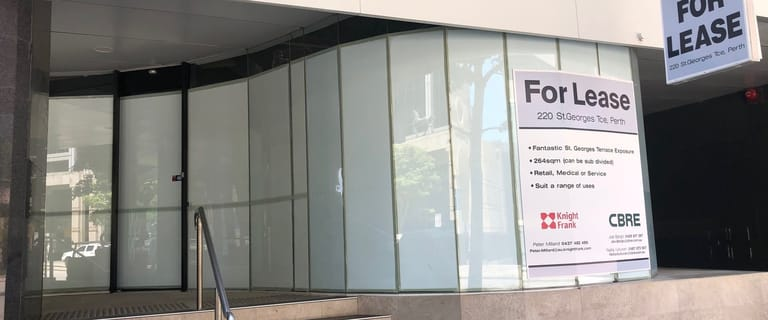 Shop & Retail commercial property for lease at 220 St Georges Terrace Perth WA 6000