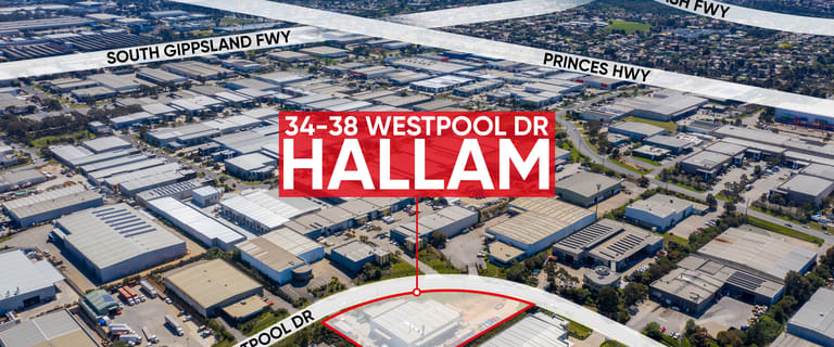 Factory, Warehouse & Industrial commercial property for lease at 34-38 Westpool Drive Hallam VIC 3803