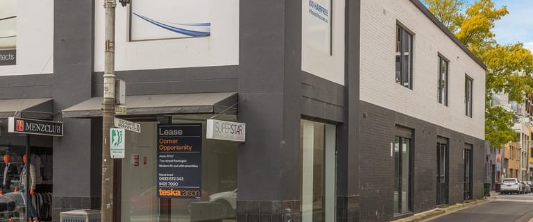 Shop & Retail commercial property for lease at Shop 1/450-460 Chapel Street South Yarra VIC 3141