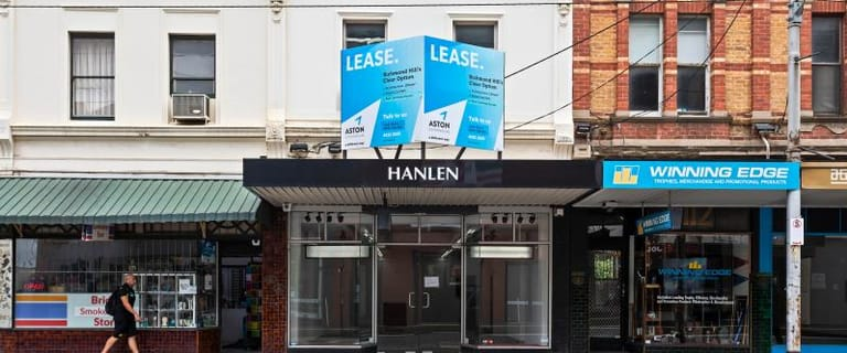 Shop & Retail commercial property for lease at 114 Bridge Road Richmond VIC 3121