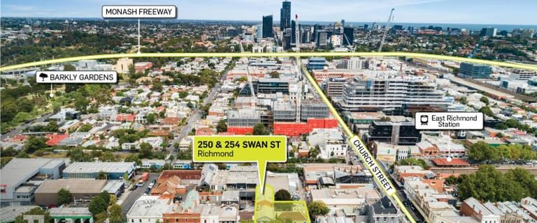 Offices commercial property for lease at 250 - 254 Swan Street Richmond VIC 3121