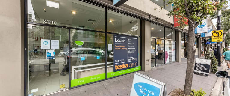 Shop & Retail commercial property for lease at Shop 3/210 Toorak Road South Yarra VIC 3141