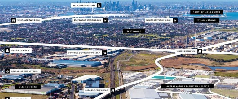 Factory, Warehouse & Industrial commercial property for lease at 2-4 Kimpton Way Altona VIC 3018