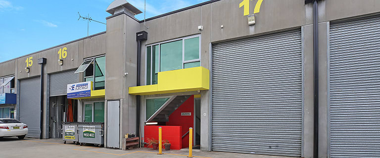 Factory, Warehouse & Industrial commercial property for lease at Unit 17/57A Rhodes Street Hillsdale NSW 2036