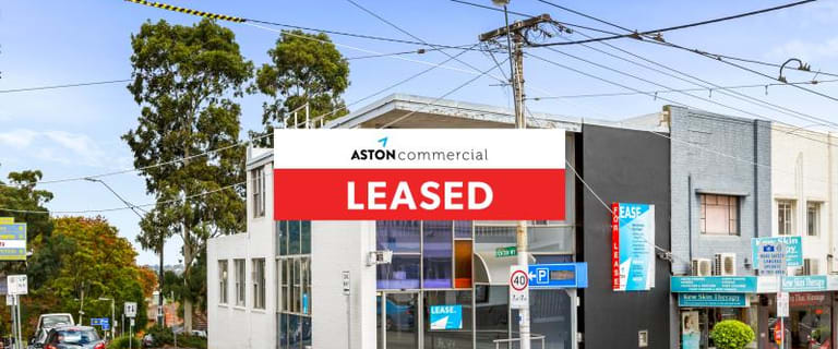 Shop & Retail commercial property for lease at 176 High Street Kew VIC 3101