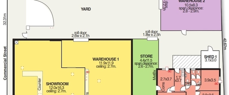 Showrooms / Bulky Goods commercial property for lease at 21-23 Grove Avenue Marleston SA 5033