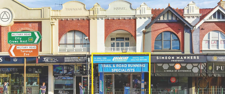 Shop & Retail commercial property for lease at 563 Military Road Mosman NSW 2088