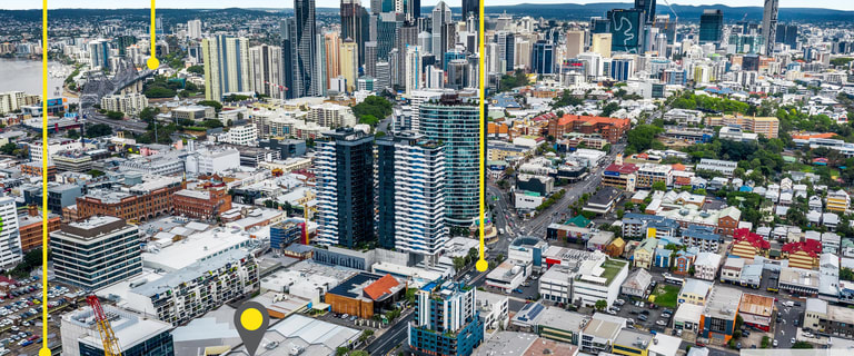 Showrooms / Bulky Goods commercial property for lease at 435 St Pauls Terrace Fortitude Valley QLD 4006