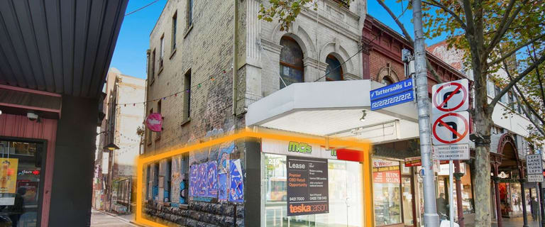 Shop & Retail commercial property for lease at Ground Floor/239 Lonsdale Street Melbourne VIC 3000
