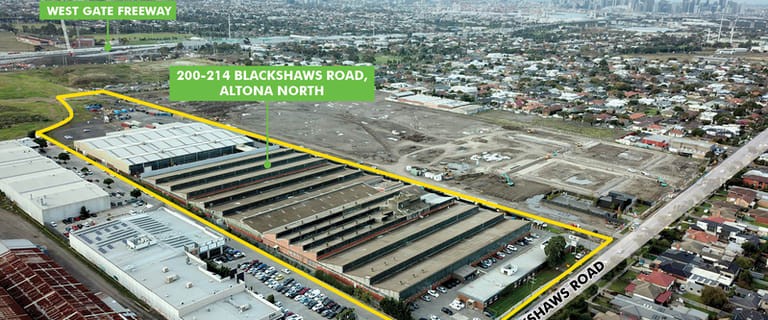 Factory, Warehouse & Industrial commercial property for lease at 200-214 Blackshaws Road Altona North VIC 3025