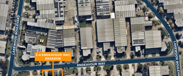 Offices commercial property for lease at 2-4 Endeavour Way Braeside VIC 3195