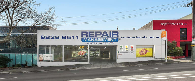 Factory, Warehouse & Industrial commercial property for lease at 605 Canterbury Road Surrey Hills VIC 3127